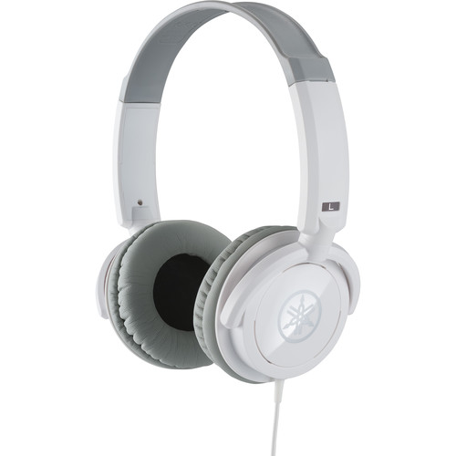 Yamaha HPH-100WH Closed Stereo Headphones (White)
