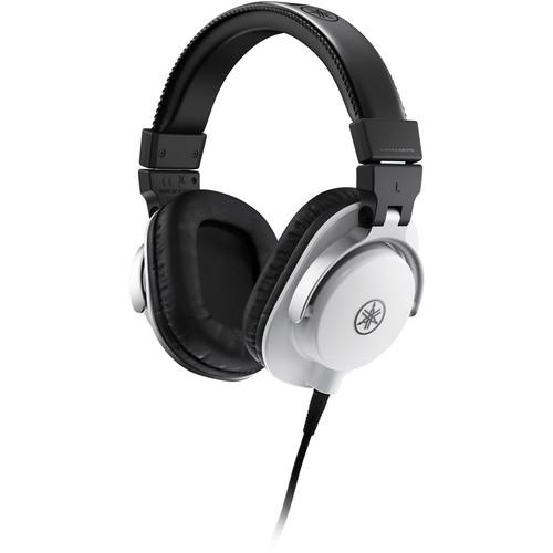 Yamaha HPH-MT5W Studio Monitor Headphones (White)