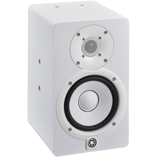 Yamaha HS5I 2-Way Bi-Amped Powered Studio Monitor (White)