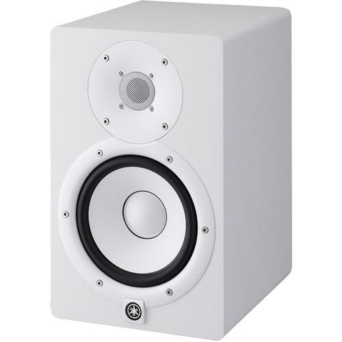 Yamaha HS7 Powered Studio Monitor (Single, White)