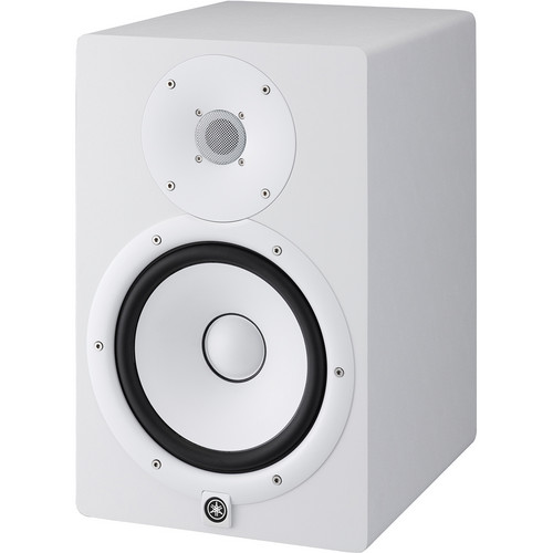 Yamaha HS8 Powered Studio Monitor (Single, White)