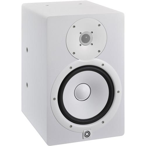 Yamaha HS8I 2-Way Bi-Amp Powered Studio Monitor (White)
