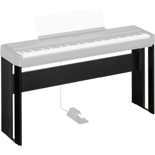 Yamaha L515 Matching Wood Stand for P-515 Piano (Black)