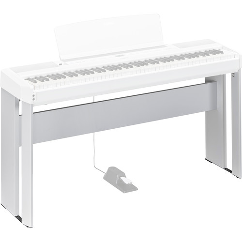 Yamaha L515 Matching Wood Stand for P-515 Piano (White)