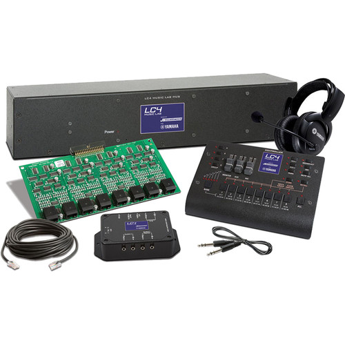 Yamaha LC4 Base Modular System for Musical Instrument Labs for 8 Student / Teacher