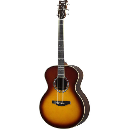 Yamaha LJ16BC Billy Corgan Signature Series Medium Jumbo Acoustic Guitar (Brown Sunburst)