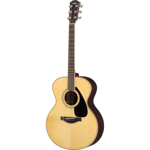 Yamaha LJ16RHB Jumbo Body Acoustic Guitar (Natural)