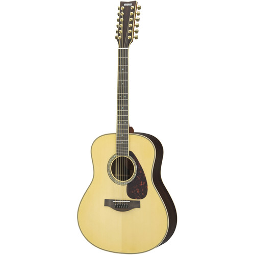 Yamaha LL16-12HB 12-String Dreadnought Acoustic Guitar (Natural)