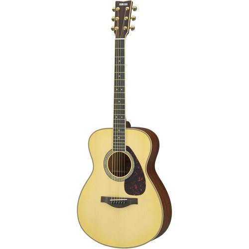 Yamaha LS16MHB Small Body Acoustic Guitar (Natural)