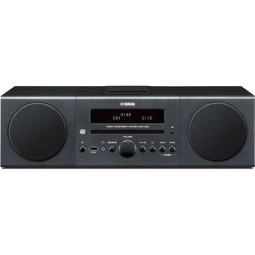 Yamaha MCR-042 Micro Component System (Dark Gray)
