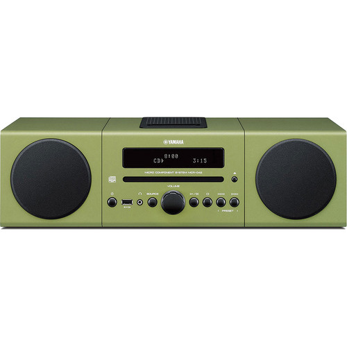 Yamaha MCR-042 Micro Component System (Green)