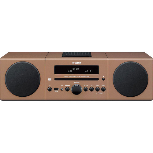 Yamaha MCR-042 Micro Component System (Light Brown)