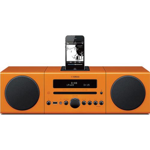 Yamaha MCR-042 Micro Component System (Orange)