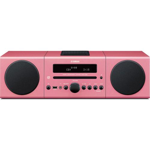 Yamaha MCR-042 Micro Component System (Pink)