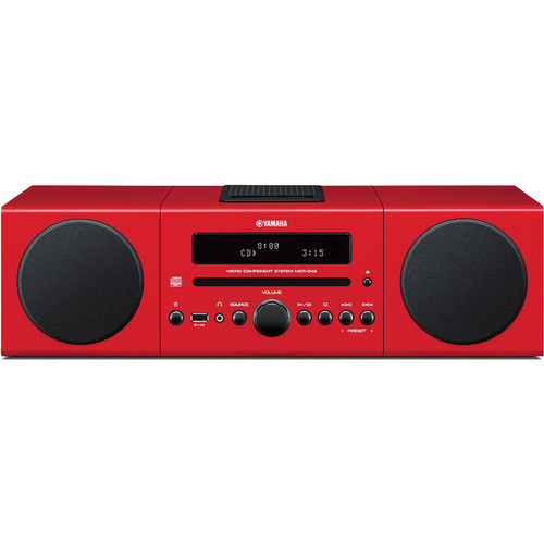 Yamaha MCR-042 Micro Component System (Red)