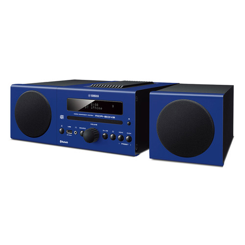 Yamaha MCR-B043 30W Bluetooth Wireless Music System (Racing Blue)