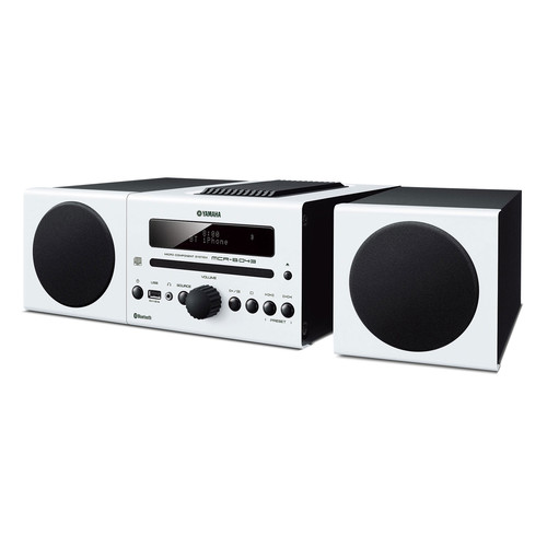 Yamaha MCR-B043 30W Bluetooth Wireless Music System (White)