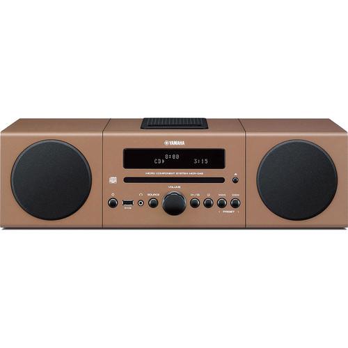 Yamaha MCR-B142 Micro Component System (Light Brown)
