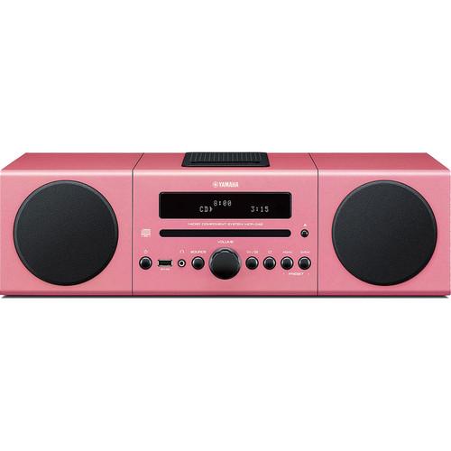 Yamaha MCR-B142 Micro Component System (Pink)