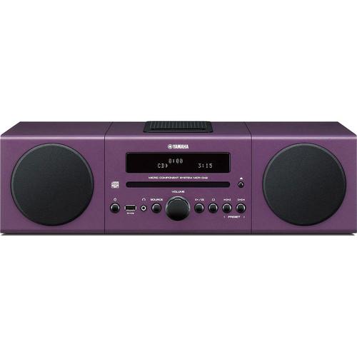 yamaha mcr b142 micro component system purple mcr b142pu b h. Black Bedroom Furniture Sets. Home Design Ideas