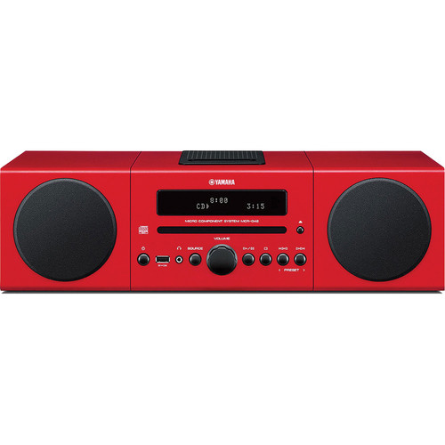 Yamaha MCR-B142 Micro Component System (Red)
