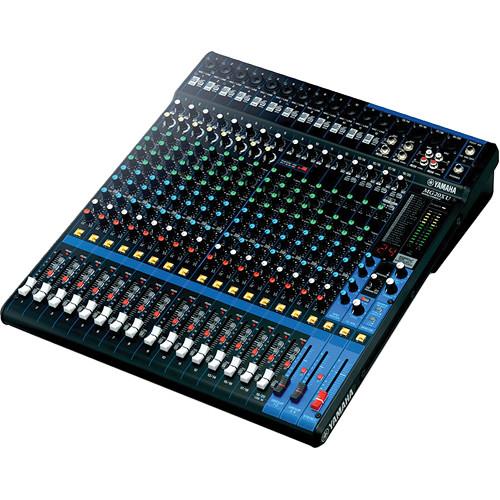 yamaha mg20xu 20 input mixer with built in fx mg20xu b h. Black Bedroom Furniture Sets. Home Design Ideas