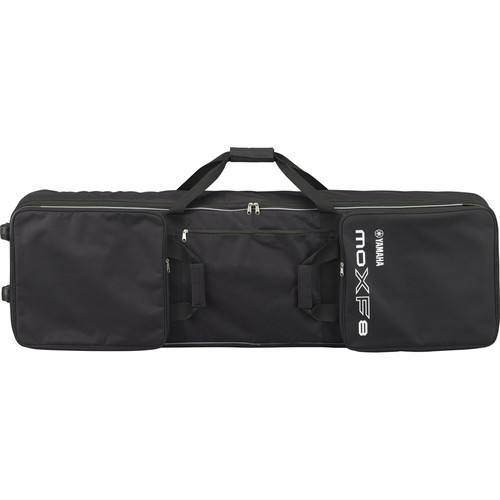 Yamaha Hard-Sided Soft Case for MOXF8 Keyboard with Wheels and Handles