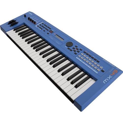 Yamaha MX49 v2 Music Production Synthesizer (Blue)