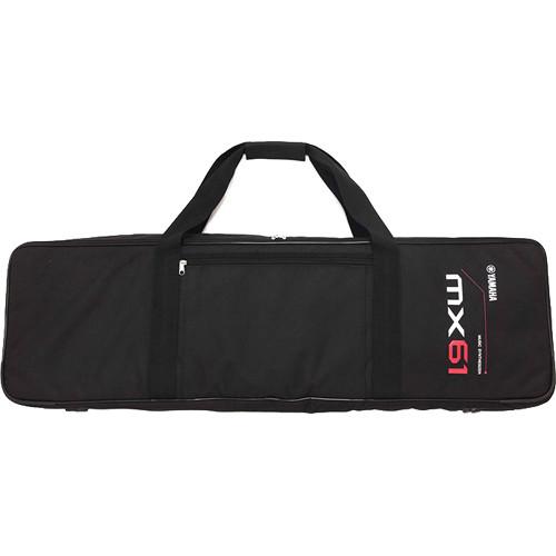 Yamaha MX61 Gig Bag with Shoulder Strap (Black)