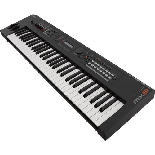 Yamaha MX61 v2 Music Production Synthesizer (Black)
