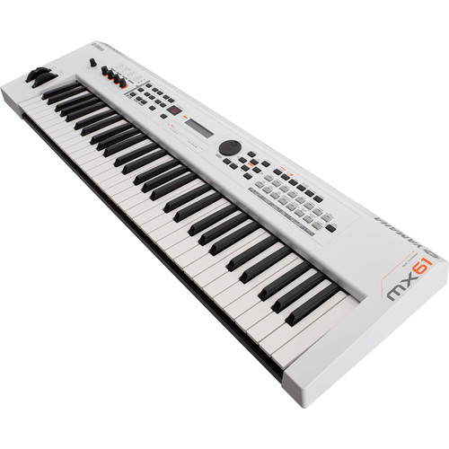 Yamaha MX61 v2 Music Production Synthesizer (Limited-Edition White)