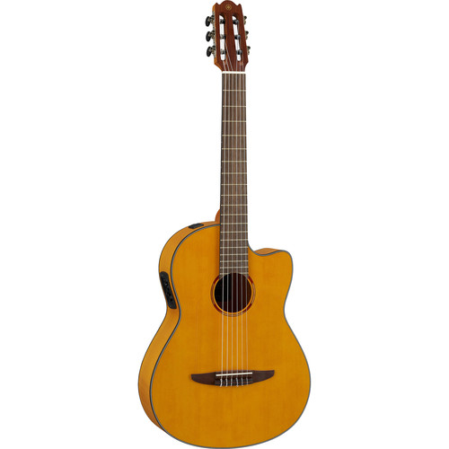 Yamaha NCX1FM NX Series Acoustic-Electric Classical Guitar (Natural)