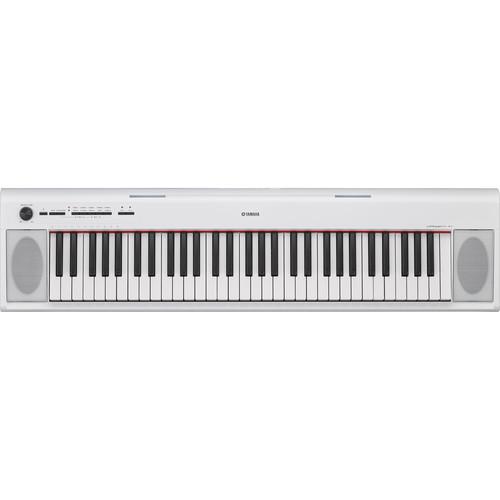 Yamaha NP-12 Piaggero - Portable Piano-Style Keyboard (White)