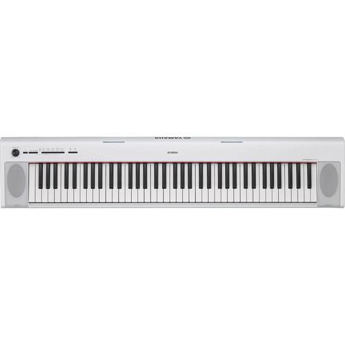 Yamaha NP-32 Piaggero Portable Piano-Style Keyboard (White)