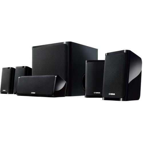 Yamaha NS-PA40BL 5.1 Channel Speaker System (Glossy Black)
