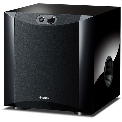 "Yamaha NS-SW200PN 8"" 130W Powered Subwoofer (Piano Black)"