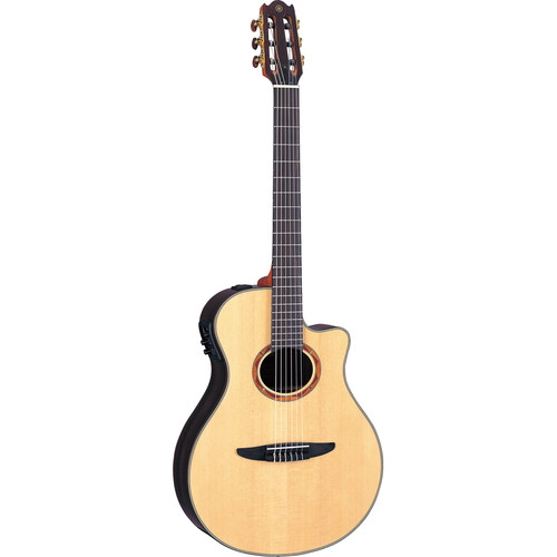 Yamaha NTX1200R Thin-Line Acoustic/Electric Classical Guitar (Natural)