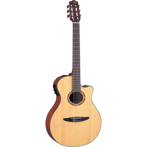 Yamaha NTX700 Nylon-String Acoustic/Electric Guitar (Spruce Top, Natural)