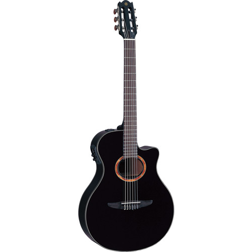 Yamaha NTX700 Nylon-String Acoustic/Electric Guitar (Spruce Top, Black)