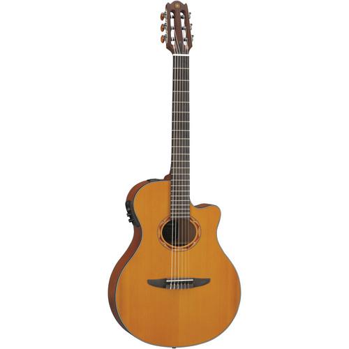 Yamaha NTX700C Nylon-String Acoustic/Electric Guitar (Cedar Top, Natural)