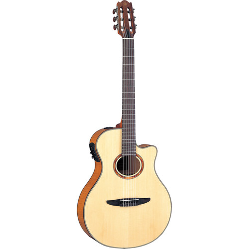 Yamaha NTX900FM Thin-Line Acoustic/Electric Classical Guitar (Natural)