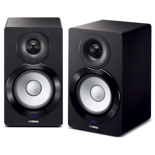 Yamaha NX-N500 MusicCast Powered Network Speaker (Pair, Black)