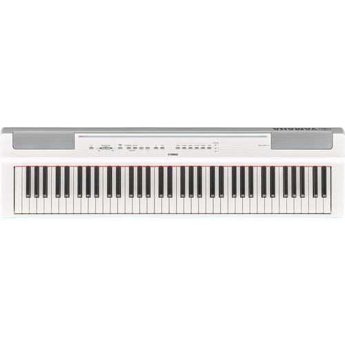 Yamaha P-121 73-Key Digital Piano (White)