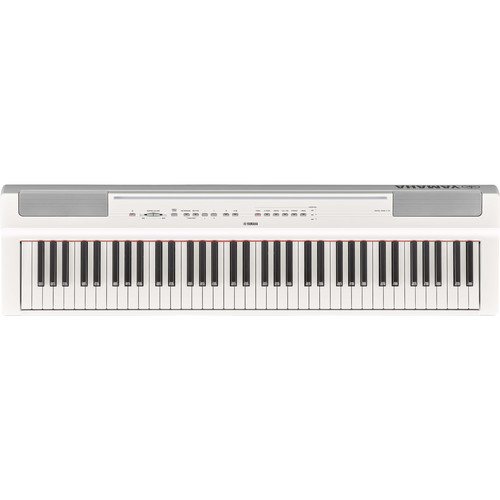 Yamaha P-121 73-Key Digital Piano (White)