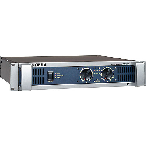 Yamaha Pair of P7000S Dual Channel 1100W Amplifiers Kit