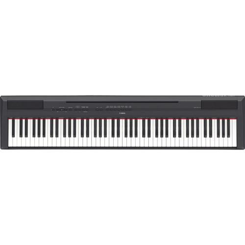 Yamaha P-115 88-Key Digital Piano & Matching Stand Bundle (Black)