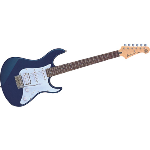 Yamaha PAC012 Pacifica Double Cutaway Electric Guitar (Metallic Blue)