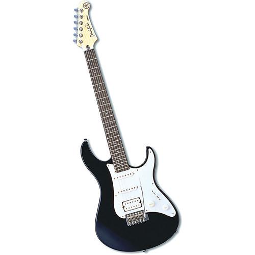 Yamaha PAC112J Pacifica Double Cutaway Electric Guitar (Black)