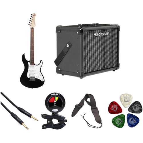 Yamaha Pacifica PAC012 Electric Guitar Starter Kit (Black)