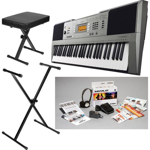 Yamaha PSR-E353 Portable Keyboard Value Bundle
